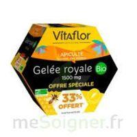 Vitaflor Bio Gelée Royale 1500mg Solution Buvable 20 Ampoules/15ml Promotion à TOULOUSE