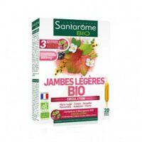 Santarome Bio Jambes Légères Solution Buvable 20 Ampoules/10ml à TOULOUSE