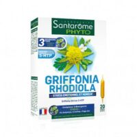 Santarome Bio Griffonia Rhodiola Solution Buvable 20 Ampoules/10ml à TOULOUSE