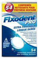 Fixodent Pro Comprimés Nettoyant Fraîcheur Longue Durée Pour Prothèse Dentaire B/54 à TOULOUSE