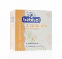 Bébisol Coquilles Recueil Lait / Boîte De 2 à TOULOUSE