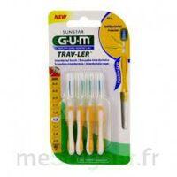 Gum Trav - Ler, 1,3 Mm, Manche Jaune , Blister 4 à TOULOUSE