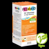 Pédiakid 22 Vitamines Et Oligo-eléments Sirop Abricot Orange 125ml à TOULOUSE