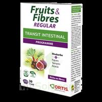 Ortis Fruits & Fibres Regular Comprimés B/30