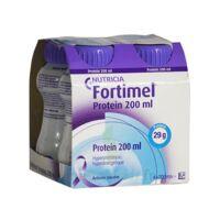 Fortimel Protein Sensation Nutriment Neutre 4 Bouteilles/200ml à TOULOUSE