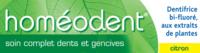 Boiron Homéodent Soin Complet Dents Et Gencives Pâte Dentifrice Citron T/75ml à TOULOUSE
